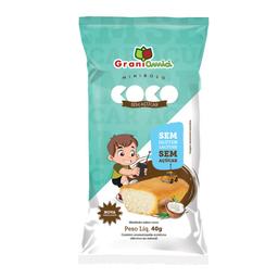 Mini Bolo Sem Glúten e sem Lactose Sabor Coco Grani Amic 40g