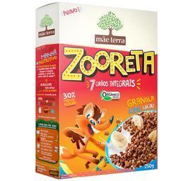 Cereal Matinal Orgânico Cacau 7 Grãos Zooreta Mãe Terra 250g