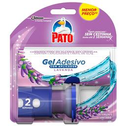 Desodorizador Sanitário Pato Gel Adesivo Aplicador + Refil