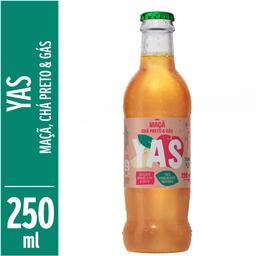 Refrigerante 100% Natural de Maçã, Chá Preto e Gás Yas 250ml