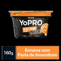 Iogurte Proteína Yopro Pasta De Amendoim E Banana 160G