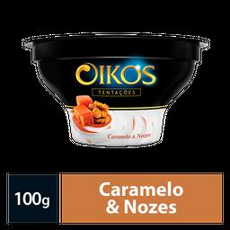 Sobremesa Oikos Tentações Caramelo E Nozes 100G