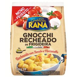 Gnocchi de Frigideira Recheado com Tomate e Mozzarella 250g