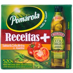 Molho de Tomate com Azeite de Oliva, Salsa e Cebolinha 520g