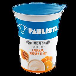 Iogurte Paulista De Laranja, Cenoura E Mel 170G
