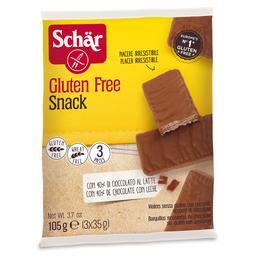 Biscoito Wafer Cobertura de Chocolate sem Glúten Schar 105g