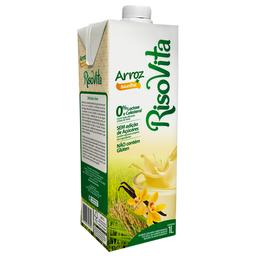 Bebida de Arroz Sabor Baunilha sem Lactose Risovita 1 Litro