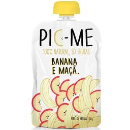 Pic Me Pure De Frutas 100 Natural Sabor Banana E Maca