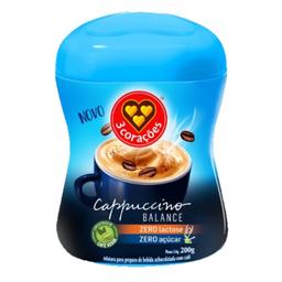 Cappuccino Balance sem Açúcar e sem Lactose 3 Corações 200g