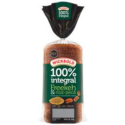 Pão de Forma Integral Freekeh e Noz Pecã Grão Sabor - 400g