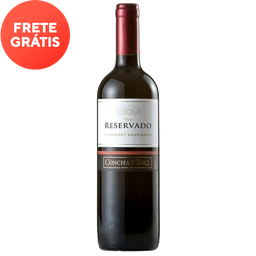 Vinho Chileno Tinto Cabernet Sauvignon Concha Y Toro 750ml