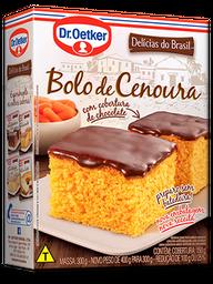 Mistura para Bolo de Cenoura com Chocolate Dr. Oetker 450g
