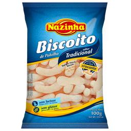 Biscoito de Polvilho sem Lactose e sem Glutén Nazinha 100g