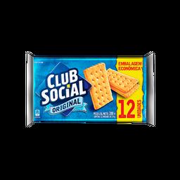 Biscoito Salgado Original Club Social 288g com 12 unidades