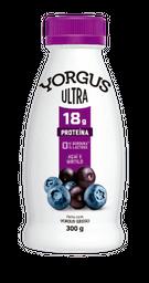 Iogurte sem Lactose Sabor Açai e Mirtilo Ultra Yorgus 300g