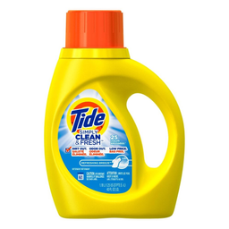 Lava Roupa Líquido Clean Fresh 25 Lavagens Tide 1,18 Litro