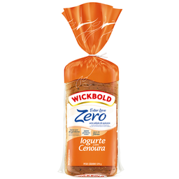 Pão de Forma Iogurte com Cenoura Estar Leve Wickbold 370g