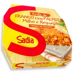 Torta de Frango com Palmito, Milho e Requeijão Sadia 500g