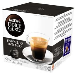 Nescafé Dolce Gusto Espresso Intenso 128g com 16 Cápsulas