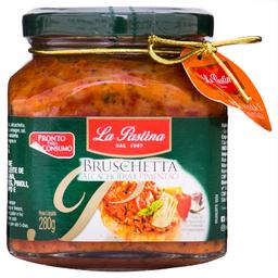 Bruschetta de Alcachofra e Pimentão La Pastina Vidro 280g