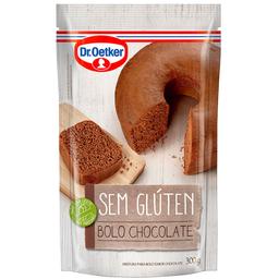Mistura sem Glúten para Bolo de Chocolate Dr. Oetker 300g