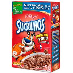 Cereal Sucrilhos Power Sabor de Chocolate Kellogg's 240g
