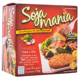 Hambúrguer de Soja Empanado Salsa e Alho Soja Mania 336g