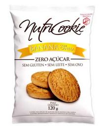 Cookie de Banana com Canela Zero Açúcar Nutricookie 120g