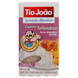 Arroz Tailandesa Cozido Variedades Mundial Tio João 1kg