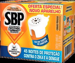 Repelente Elétrico 45 Noites Aparelho + Refil SBP 35ml