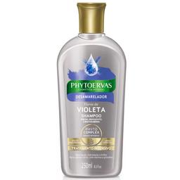 Shampoo para Tratamento Desamarelador Phytoervas 250ml