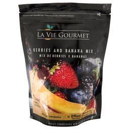 Mix de Berries e Banana Congeladas La Vie Gourmet 450g