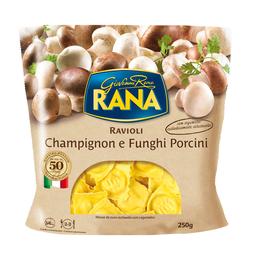 Ravioli Recheado Champignon e Funghi Porcini Rana 250g