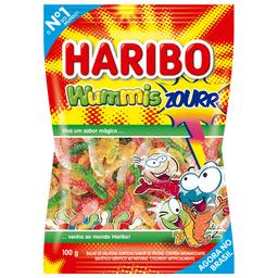 Bala de Gelatina Sabor Frutas Wummis Zourr Haribo 100g