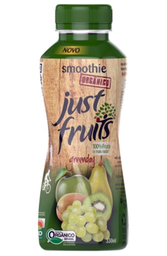 Smoothie Orgânico de Frutas Greenday Just Fruits 330ml