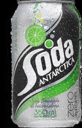 Refrigerante Soda Limonada Zero Antárctica Lata 350ml