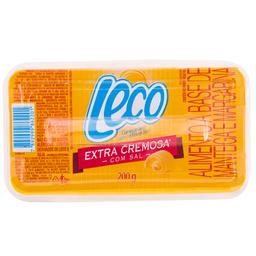 Manteiga e  Margarina Extra Cremosa com Sal Leco 200g