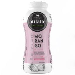 Iogurte Desnatado com Polpa de Morango Ati Latte 180g
