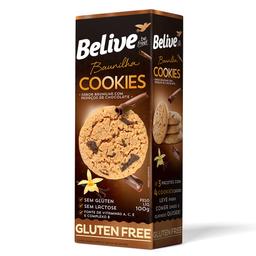 Cookie sem Lactose Baunilha com Chocolate Belive 100g