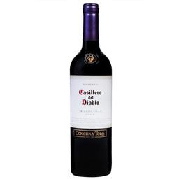 Vinho Chileno Tinto Merlot Casillero Del Diablo 750ml