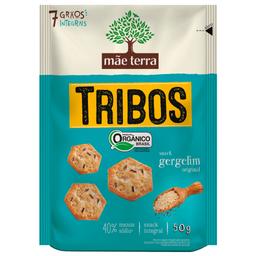 Biscoito Orgânico Sabor Gergelim Tribos Mãe Terra 50g