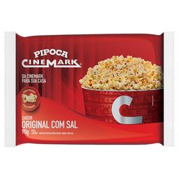 Pipoca Cinemark para Micro-Ondas Original com Sal 90g