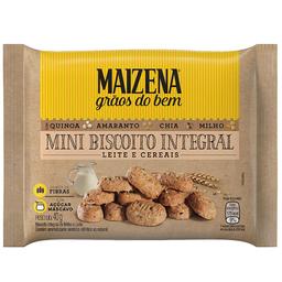 Mini Biscoito Integral de Leite e Cereais Maizena 40g