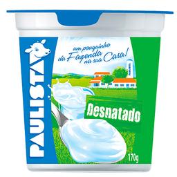 Iogurte Paulista Desnatado 170G