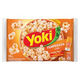 Milho de Pipoca Temperado Popcorn Toque de Chef 100g