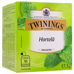 Chá Inglês de Hortelã Twinings 17,5g com 10 unidades