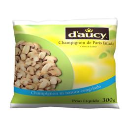 Champignon de Paris Congelado e Fatiado D'aucy 300g