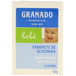 Sabonete Infantil em Barra Lavanda Granado Bebê 90g