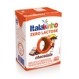 Bebida Láctea de Chocolate sem Lactose Italac 200ml