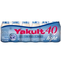 Leite Fermentado Yakult 40 Light 80g com 6 unidades